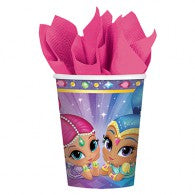 Shimmer & Shine Paper Cups (Pack of 8)