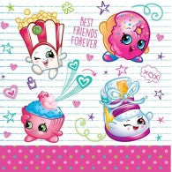Shopkins Luncheon Napkins (Pack of 16)