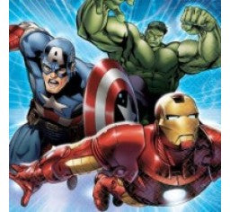 Avengers Lunch Napkins (Pack of 16)
