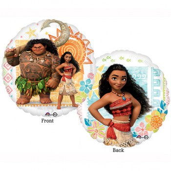 Moana party decorations. Moana 45cm foil balloon