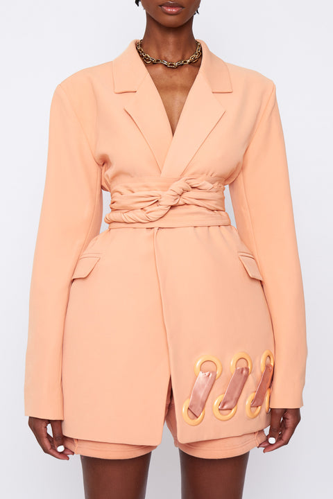 BB Suit Jacket Peach