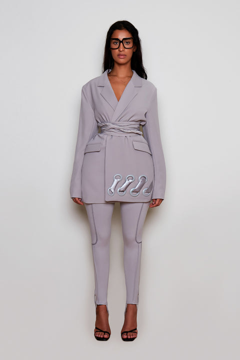 Crayon Grey BB Suit Jacket
