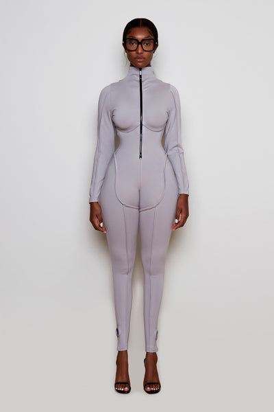 Crayon Grey Jumpsuit