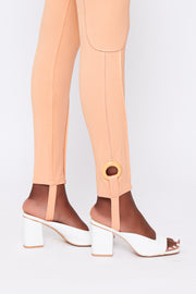 Legging Pants Peach