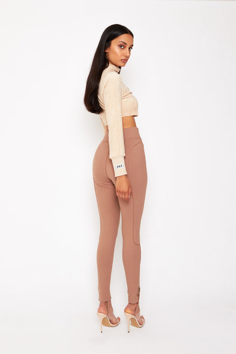 Legging Pants Mocha