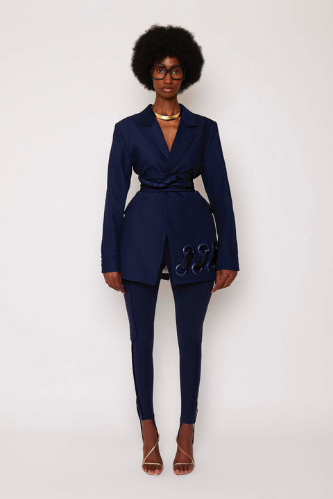 Navy BB Suit Jacket