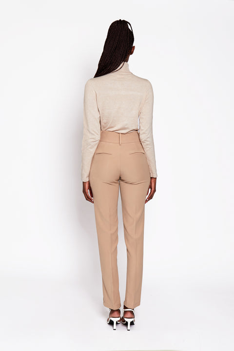 Mid Split Suit Pants