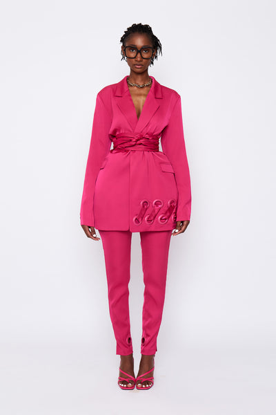 Hot Pink BB Suit Jacket