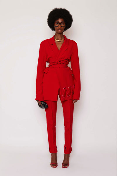 Festive Red BB Suit Jacket