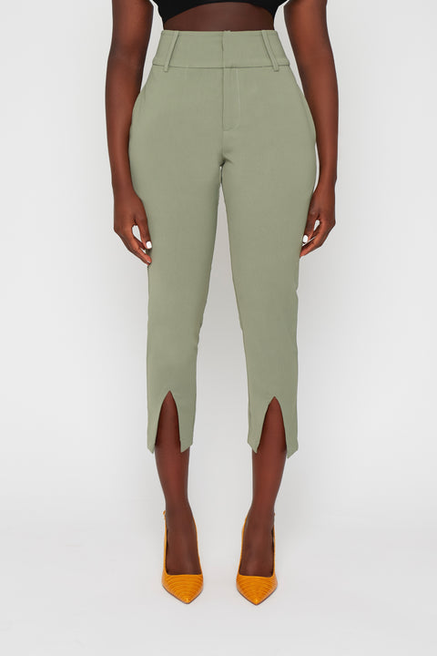 Chief Green Open Suit Pants