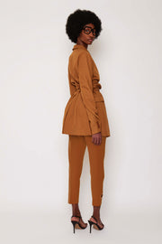 Burnt Tan BB Suit Jacket