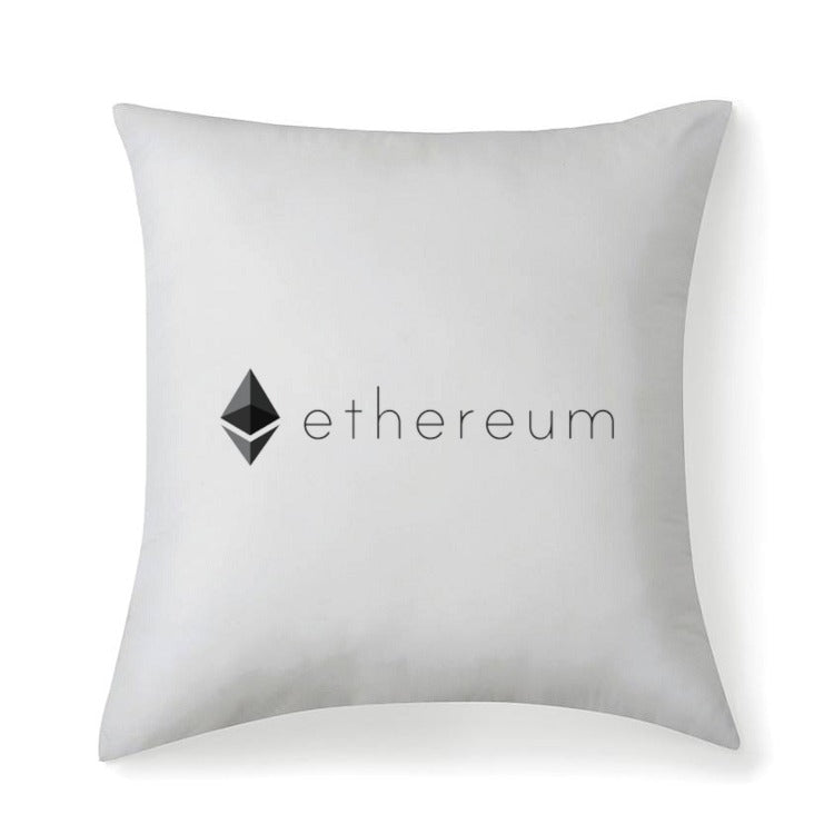 Ethereum v2 Multisized Premium Throw Square Pillows & Covers - MyCryptoMarket.ca