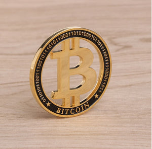 Commemorative Hollow Design Bitcoin Coins - MyCryptoMarket.ca