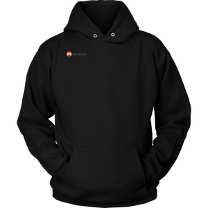 Monero (XMR) Logo Right Chest Hoodie - MyCryptoMarket.ca