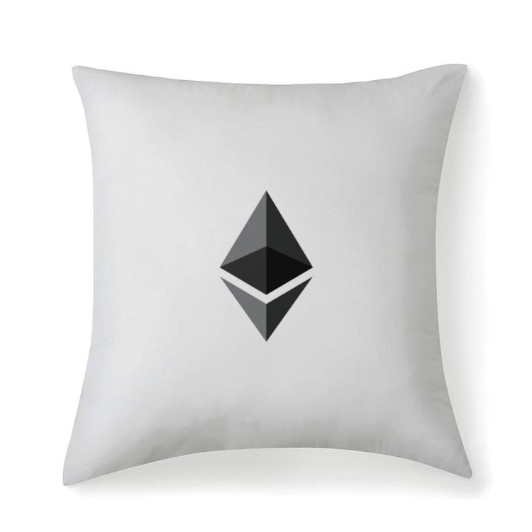 Ethereum v1 Multisized Premium Throw Square Pillows & Covers - MyCryptoMarket.ca