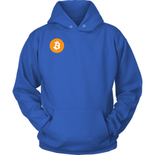 Load image into Gallery viewer, Bitcoin (BTC) Round Logo Hoodie - MyCryptoMarket.ca