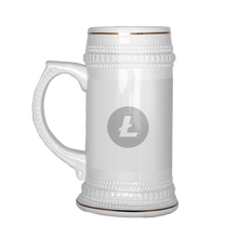 Load image into Gallery viewer, Litecoin (ETH) Beer Stein