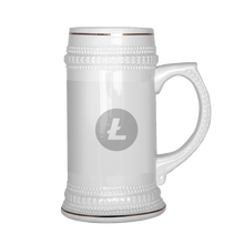 Load image into Gallery viewer, Litecoin (ETH) Beer Stein - MyCryptoMarket.ca