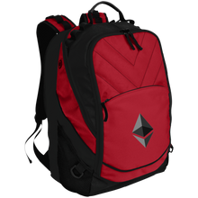Load image into Gallery viewer, Ethereum v1 BG100 Port Authority Laptop Computer Backpack - MyCryptoMarket.ca