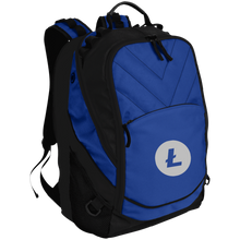 Load image into Gallery viewer, Litecoin BG100 Port Authority Laptop Computer Backpack - MyCryptoMarket.ca