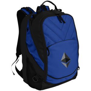 Ethereum v1 BG100 Port Authority Laptop Computer Backpack - MyCryptoMarket.ca