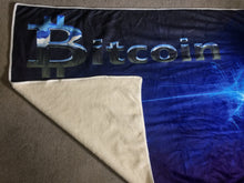 Load image into Gallery viewer, Custom Designed Bitcoin Blanket