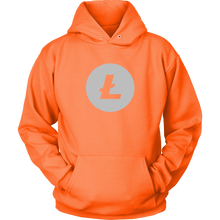 Load image into Gallery viewer, Litecoin (LTC) Logo Full Chest Hoodie - MyCryptoMarket.ca