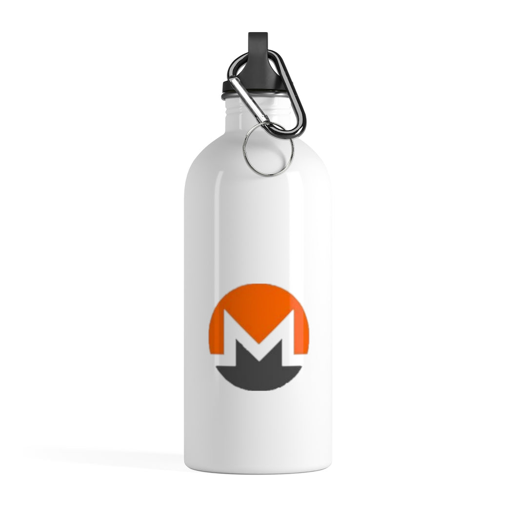 Monero Stainless Steel Water Bottle - MyCryptoMarket.ca
