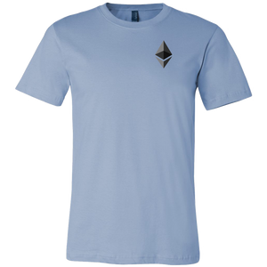Ethereum (ETH) v1 Canvas T-Shirts - MyCryptoMarket.ca