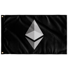 Load image into Gallery viewer, Ethereum Inverted v1 Flag - MyCryptoMarket.ca