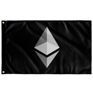 Ethereum Inverted v1 Flag - MyCryptoMarket.ca
