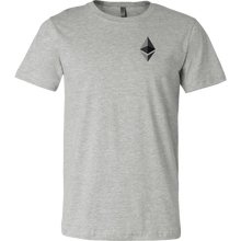 Load image into Gallery viewer, Ethereum (ETH) v1 Canvas T-Shirts - MyCryptoMarket.ca