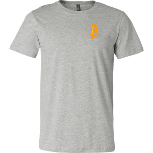 Big 'B' Bitcoin (BTC) Canvas T-Shirts - MyCryptoMarket.ca