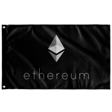 Load image into Gallery viewer, Ethereum Inverted v3 Flag - MyCryptoMarket.ca