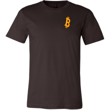 Load image into Gallery viewer, Big 'B' Bitcoin (BTC) Canvas T-Shirts - MyCryptoMarket.ca