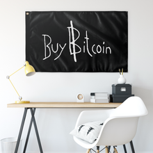 Load image into Gallery viewer, Buy Bitcoin v2 Flag - MyCryptoMarket.ca
