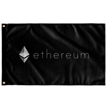 Load image into Gallery viewer, Ethereum Inverted v2 Flag - MyCryptoMarket.ca