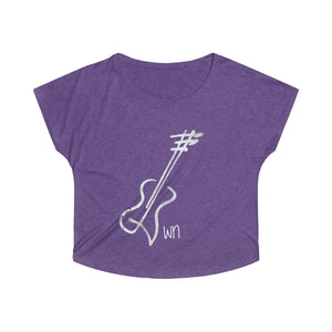 Loose Fit Ladies Guitar Tee