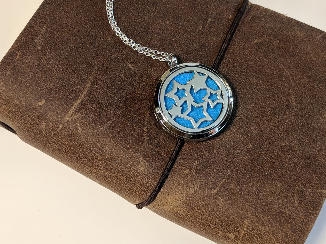 Stars Necklace - Essential Oil Diffuser Jewelry