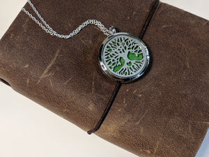 Tree of Life Necklace - Essential Oil Diffuser Jewelry