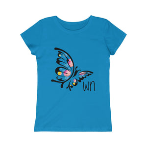 Girls Butterfly Princess Tee