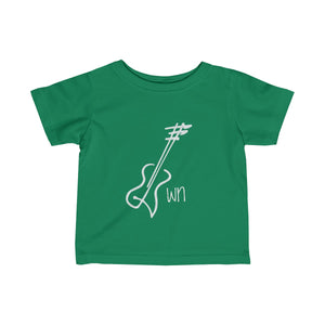 Guitar Tee - Infant Fine Jersey