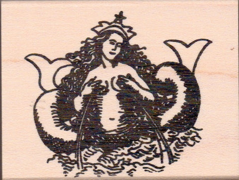 Siren Rubber Stamp