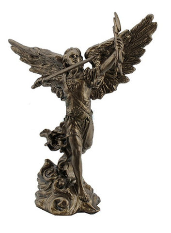 Archangel St Remiel with Sword Miniature Statuette