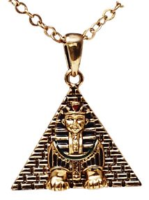 Egyptian Jewelry Sphinx Necklace
