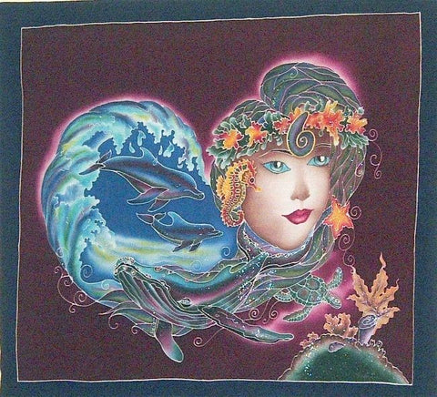 Sea Goddess Nautical Banner Wall Decor