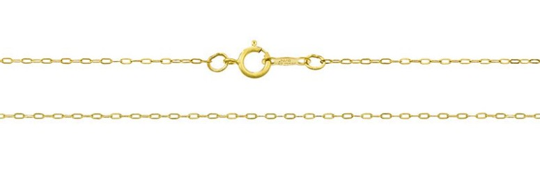 Cable Style 18 Inch Gold Filled Chain Goddessgift