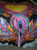 Double Dragon Tent Fabric Entryway or Doorway