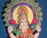 Goddess Lakshmi Laxmi Statue Seated on Lotus