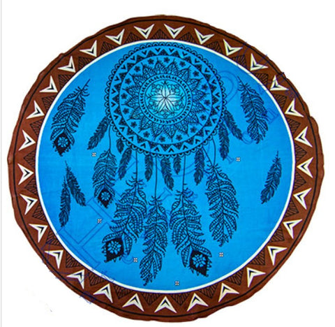 Tapestry Dreamcatcher Large Round Cotton Wall Hanging Native American Decor